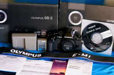 Olympus OM-D E-M1 Black Weather-Resistant Body in Box
