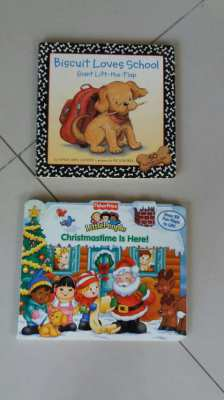 Baby Books-Biscuit Loves School-Little People Christmastime Is Here!