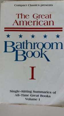 Price Cut! Great American Bathroom Summaries of All-Great Book