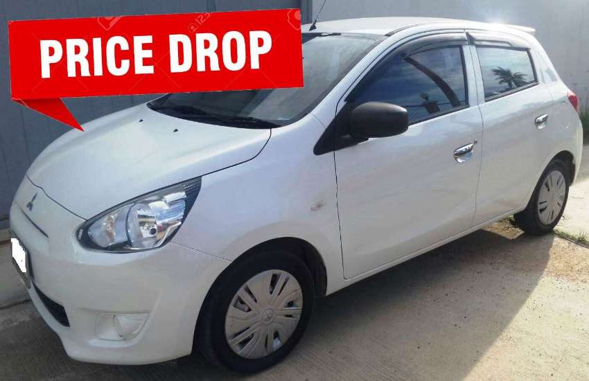 02/2015 Mitsubishi Mirage MT 169.900 ฿ Finance by shop