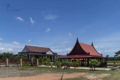 Resort and lotus farm