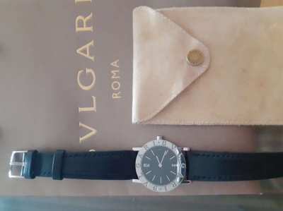 Private owned Bulgari Watch - Tubogas  Automatic  - verified dealer