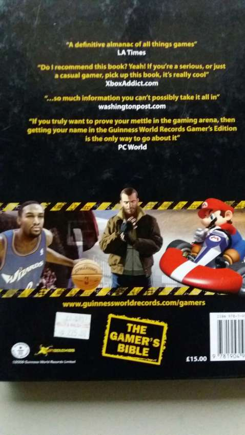 NEW YEAR SALE! PRICE CUT! Guinness World Records 2009 GAMER'S EDITION