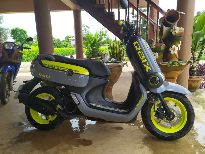 Yamaha qbix ABS (upgraded model) just one year old for sale