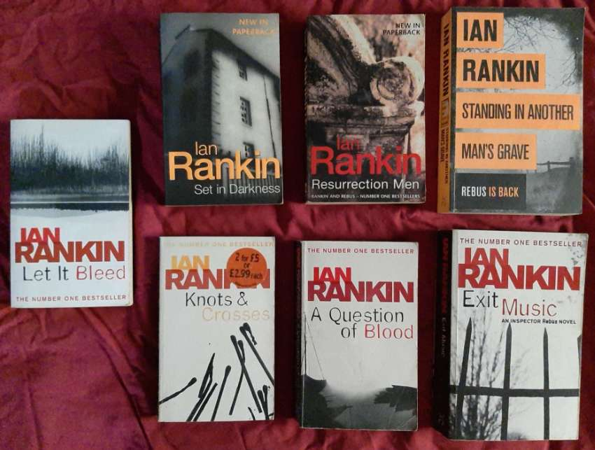 My Inspector Rebus Library - 8 novels by Ian Rankin