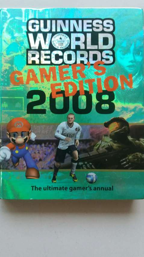 NEW YEAR SALE! PRICE CUT! Guinness World Records GAMER'S EDITION 2008