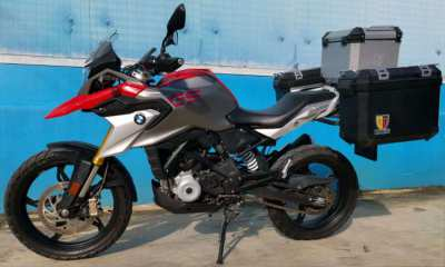 BMW G-310 GS - 7,200 km Only = Discount 150,000