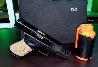 We co2 airsoft glock 17 pistol