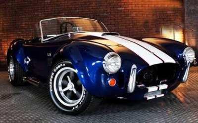 COBRA 427 Sportscar Body Production Moulds
