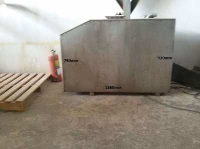 fuel tank , stainless steel , 316 , app.600liter