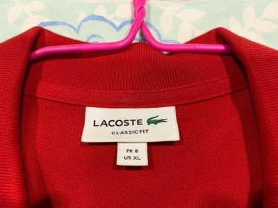 LACOSTE POLO-SHIRTS XL (750THB-1500THB)