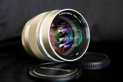Olympus M.Zuiko Portrait 75mm F1.8 Lens