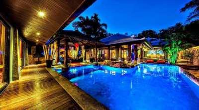 For sale villa Balinese in Bophut Koh Samui