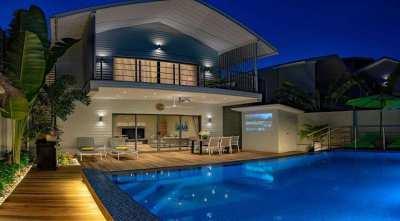 For sale contemporary villa in Ban Tai Koh Samui