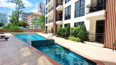 1-bedroom Condo in City garden Pratumnak