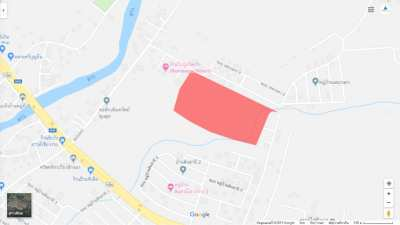 Land for sale near Central Chiang Rai, near HomePro and Chiang Rai Air