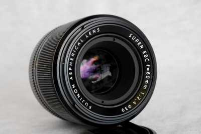 FUJIFILM Fuji Fujinon XF 60mm F/2.4 R Macro Lens