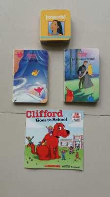 NEW YEAR SALE-Disney's Sleeping Beauty-Pocahontas-Clifford Big Red Dog