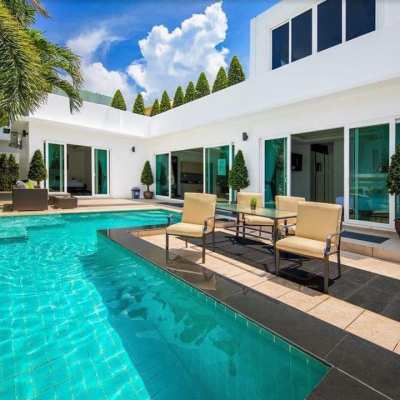 PALM OASIS Luxury Pool Villa, Jomtien, Price reduced!