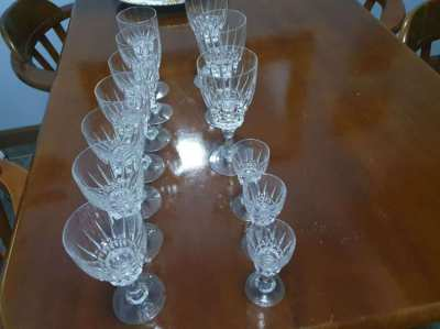 Gorgeous German Crystal Glasses 1 owner