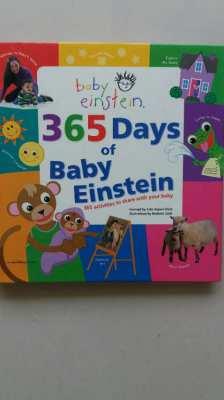 NEW YEAR SALE!  - 365 Days of Baby Einstein Book