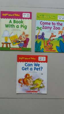 SightWordEnglish,Book with a Pig-Come to the Zany Zoo-Can We Get a Pet