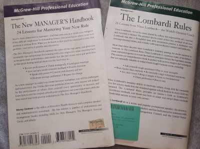 How To Be A Better Manager! - Two Excellent McGraw-Hill Handbooks