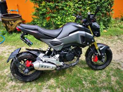 Honda MSX 125SF ***LIKE NEW*** Customized