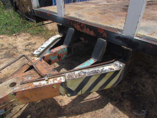 Heavey duty tandem trailer suitable for excuvator or rice car