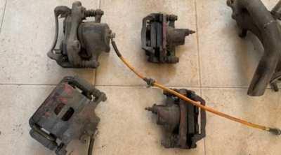 Nissan Cefiro A31 brakes