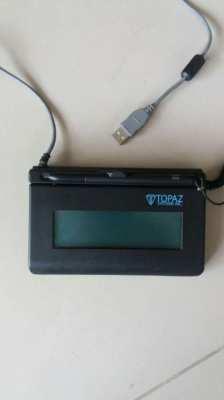 Price Drop Topaz SignatureGem Backlit LCD Signature Capture Pad USB
