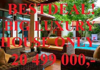 SUPERDEAL! Big Luxury Villa Swimming pool Superb Location