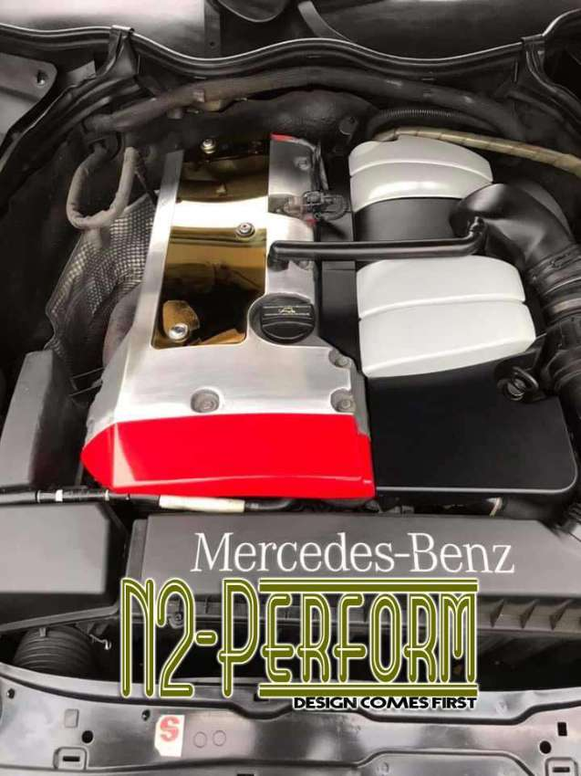 Stainless Coil Cover for M111 Engine Merc Benz