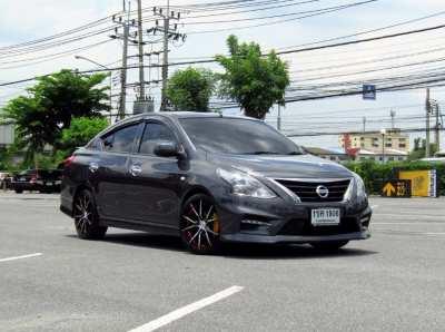 Nissan Almera 1.2 E Sportech ปี 17 มือเดียว แต่งสวย ไม่เคยชน