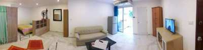 Pattaya Beach Rd, large Studio Condo for Rent