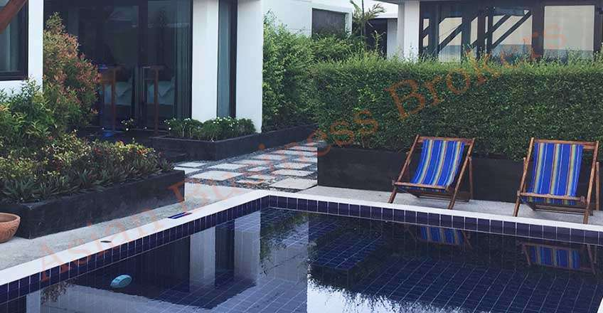 6705025 Beachfront Villas with Swimming Pool for Rent in Koh Phangan