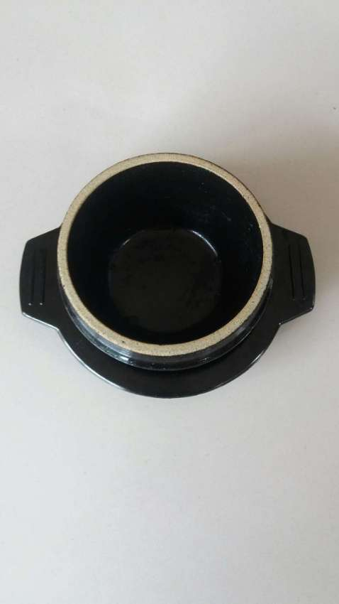 SALE! Price Drop Stone Bowl with Trivet-Ceramic-Stone Hot Pot