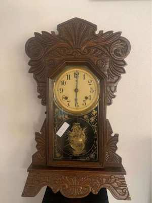 Antique standing/hanging clock 001