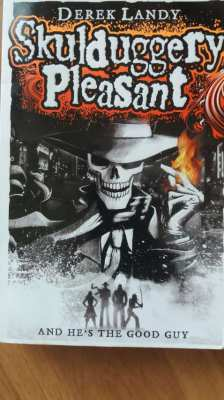 Older Kids Book - Skulduggery Pleasant - Derek Landy