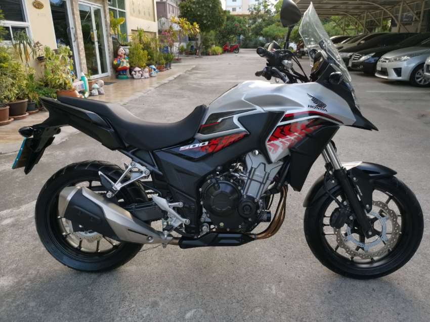 HONDA CB-500X ABS , ONLY 7,800 km, discount to 150,000