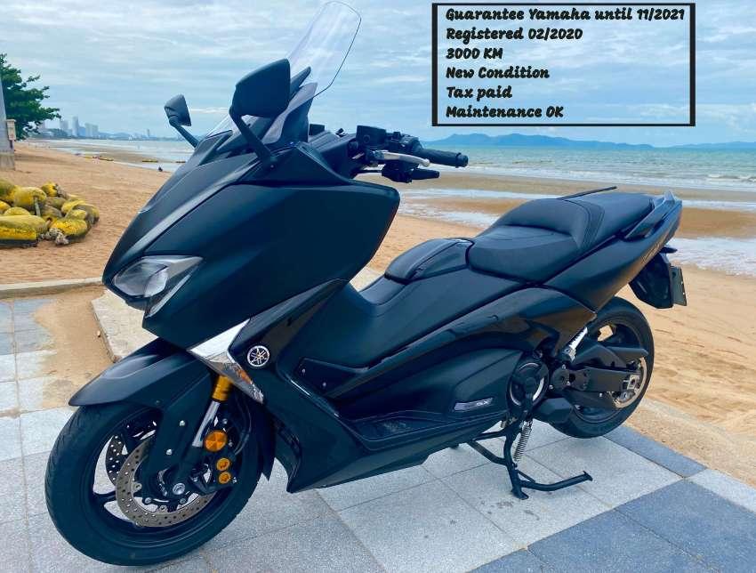Tmax 530 SX New Condition first use 02/2020 mileage 3000 km Guarantee