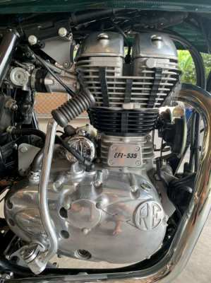 Brand new Royal Enfield Continental GT 535 2018