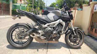 2016 Yamaha MT-09 41,xxx kms