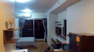 Studio modern Supalai Mare 8th floor city view