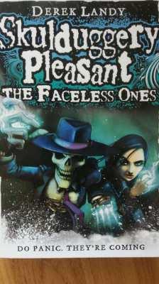 Older Kids Book-Skulduggery Pleasant-The Faceless Ones-Derek Landy