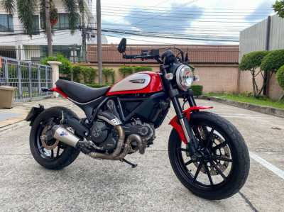 Ducati Scrambler Red Termignoni Exhuast