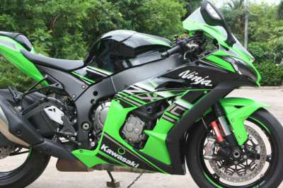 Kawasaki zx10r 2016 excellent condition