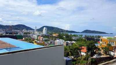 Sea View Apartment In Condominium For Sale in Patong Phuket