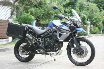 Triumph tiger xcx 800 2015 ready for journey best condition