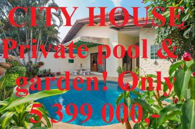 SUPERDEAL! City House Swimming pool Superb Location